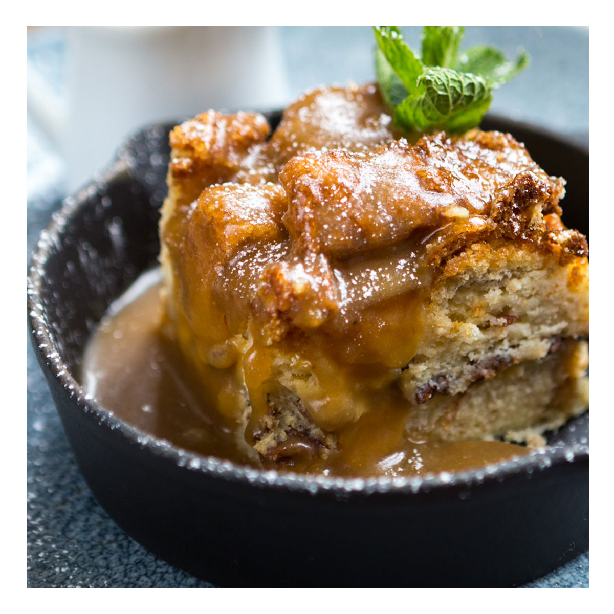 Chef & Brewer - Rum Bread and Butter Pudding
