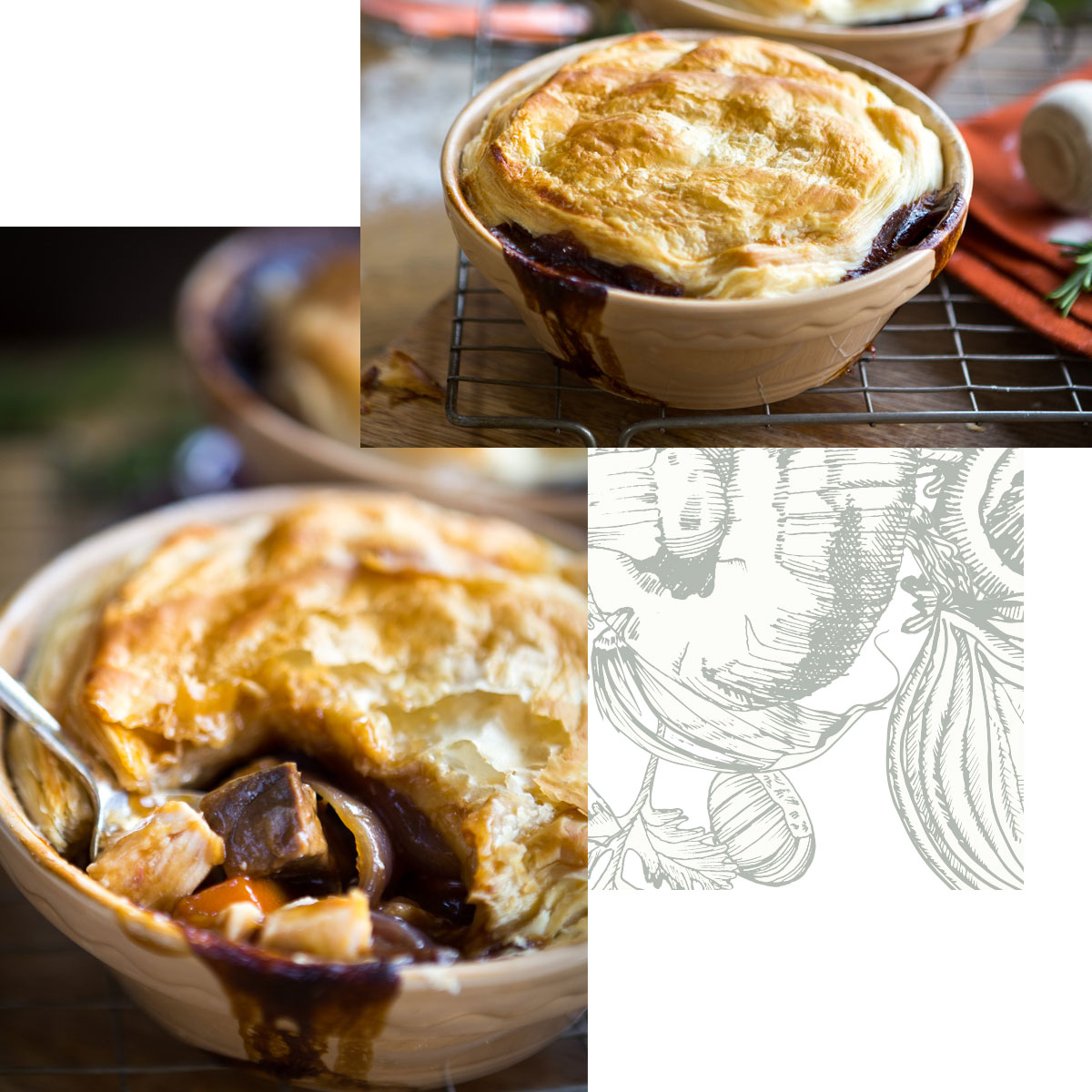 Chef & Brewer - Slow cooked game pie